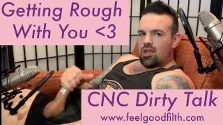 Getting Rough w/ CNC Dirty Talk | Visibly Throbbing Hard Cock + LOUD ORGASM