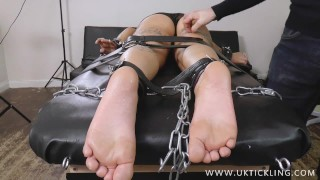 Jade S tickled face-down