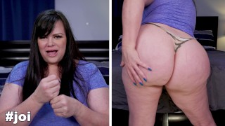 NICHE PARADE - Curvy, White BBW Marcy Diamond Giving Jerk Off Instructions