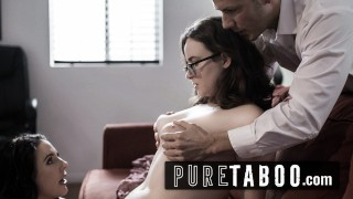 PURE TABOO Woman Agrees to Intense DP Therapy Session