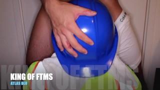 HD: Bisexual Irish Construction worker sucks FTM Transman's Dick after work.. (AMATEUR)
