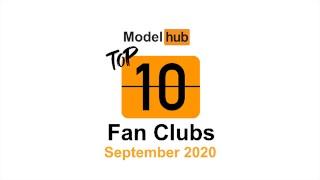 Top Fan Clubs of September 2020 - Pornhub Model Program
