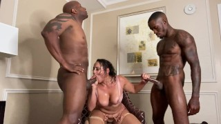 Pressure & Prince Yashua Destroy Latina SUPERFREAK Carmela Clutch In Rough Sex Gauntlet