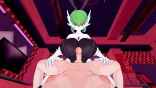 Pokemon: Futa Gardevoir busty bunny pleasure | Futa Taker POV