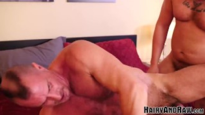 HAIRYANDRAW Lion Reed And Christian Mitchell Raw Fuck Hard