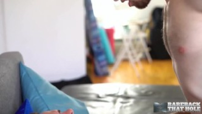 BAREBACKTHATHOLE Muscular Manuel Skye Raw Breeds Thyle Knoxx