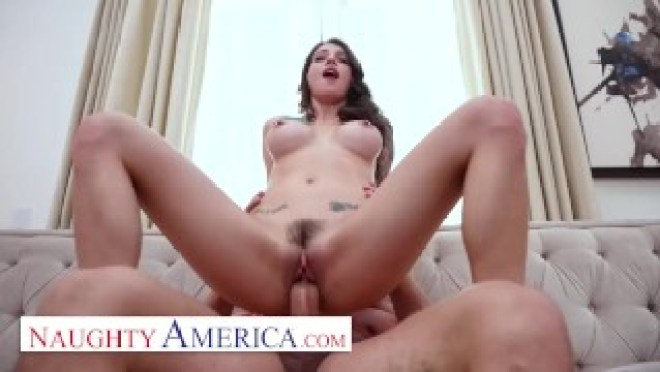 Naughty America – Maddy May hooks up with her friend's big dick dad to ensure he keeps quiet about h