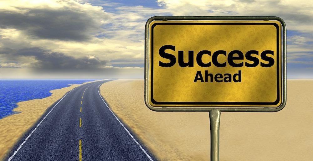 sign-post-success-ahead