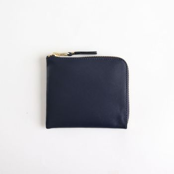 Wallet COMME des GARCONS | ウォレット コム デ ギャルソン [ L字型ZIP財布 SA3100 #NAVY/CLASSIC LEATHER [8Z-D003-051] ]
