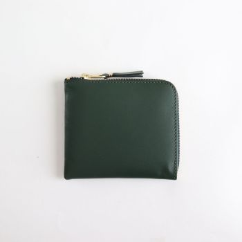 Wallet COMME des GARCONS | ウォレット コム デ ギャルソン [ L字型ZIP財布 SA3100 #BOTTLE GREEN/CLASSIC LEATHER [8Z-D003-051] ]