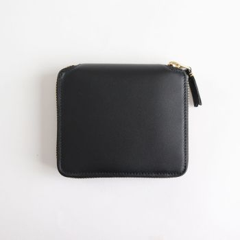 Wallet COMME des GARCONS | ウォレット コム デ ギャルソン [ 二つ折りZIP財布 SA2100 #BLACK/CLASSIC LEATHER [8Z-D002-051] ]