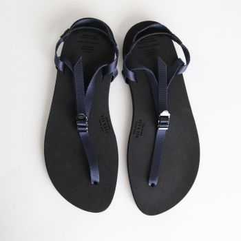 BEAUTIFUL SHOES | ビューティフルシューズ [ BAREFOOT SANDALS (THICK SOLE) #NAVY [BSS1812006] ]