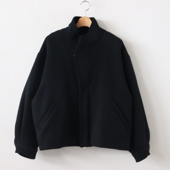 stein | シュタイン [ OVER SLEEVE BOA MELTON JACKET #BLACK [ST.118] ]