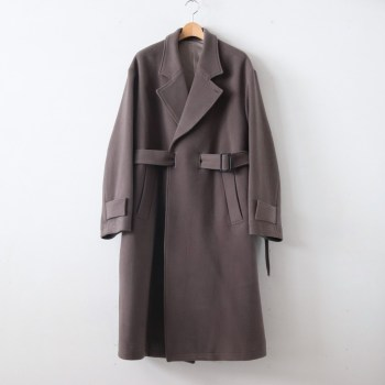stein | シュタイン [ OVERSIZED LESS COAT #K.GRAY [ST.088] ]