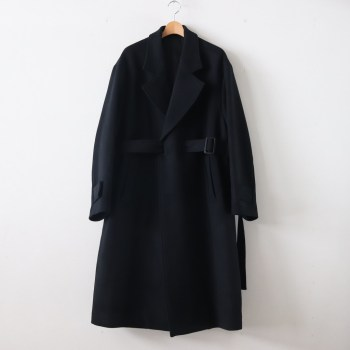 stein | シュタイン [ OVERSIZED LESS COAT #BLACK [ST.088] ]