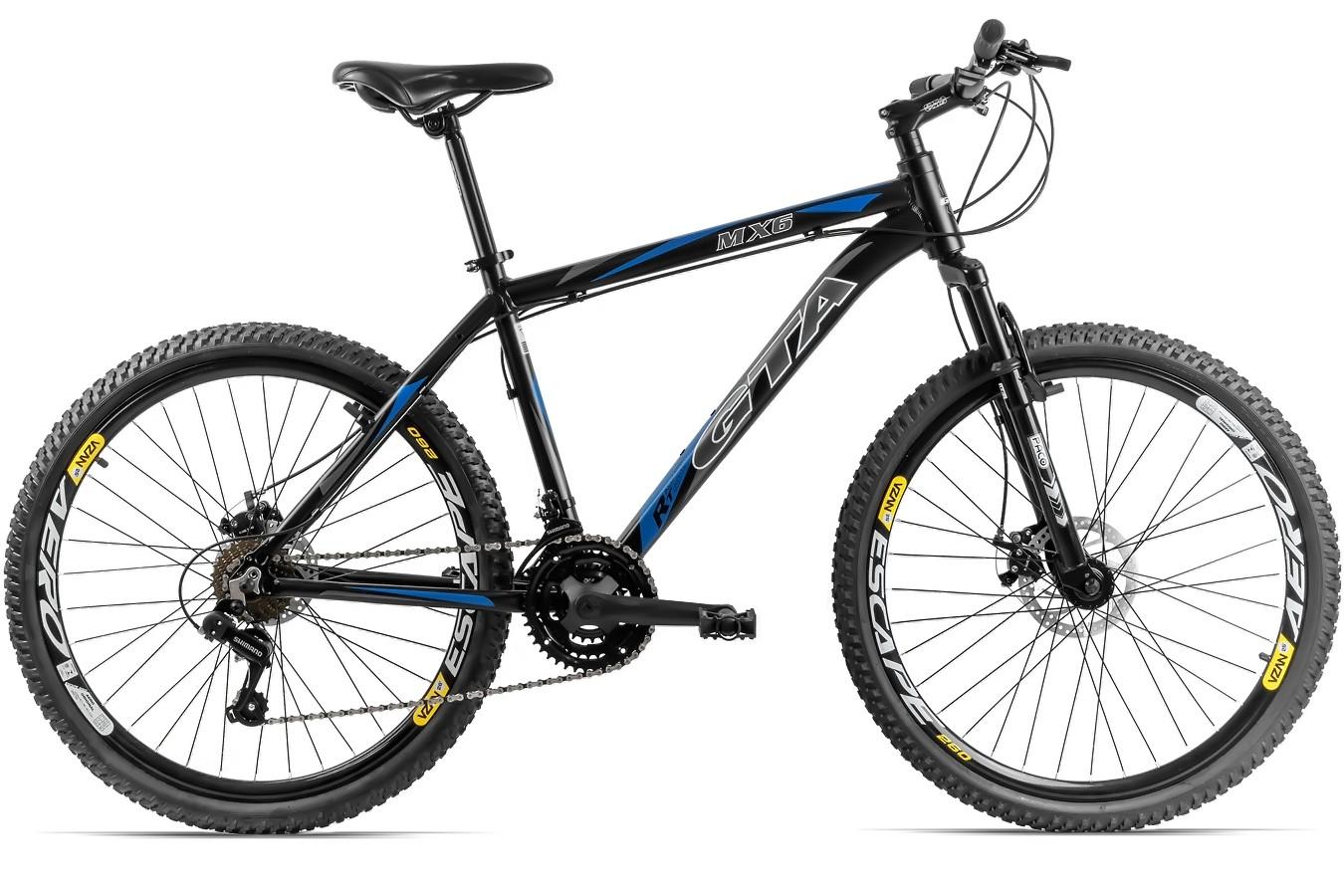 Bicicleta 26 Aluminio 21v Mx6
