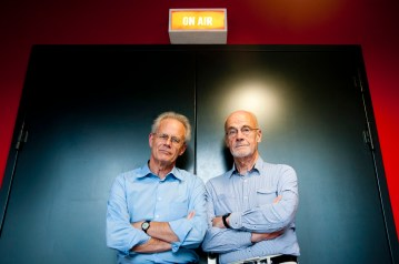 Dirk Tieleman en William Van Laeken