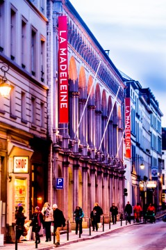 concertzaal La Madeleine Brussel
