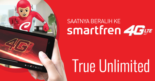 Paket internet True Unlimited dari Smartfren