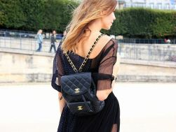 Classic Chanel backpack