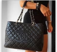 Chanel shopper tote