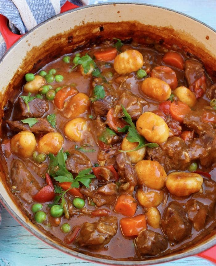 Easy Stove Top Beef Stew Recipe