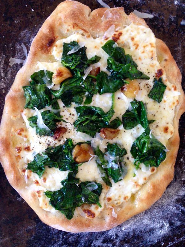 Ricotta Spinach Pizza Recipe - Ciao Florentina