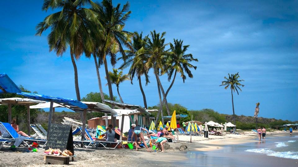 St. Kitts, Cockleshell Bay Beach