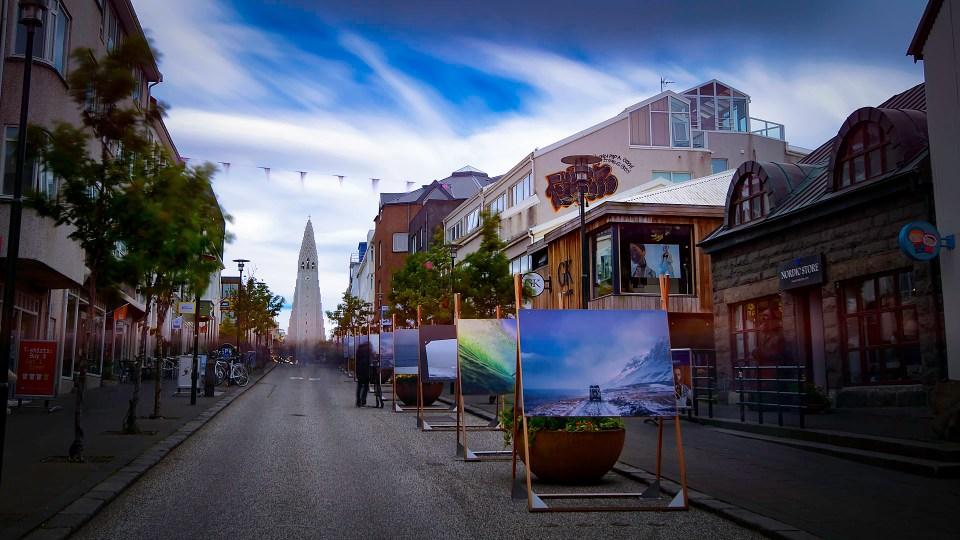 Rekjavik downtown Iceland
