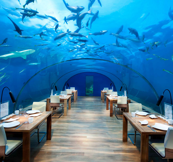 Ithaa Restaurant, Maldives