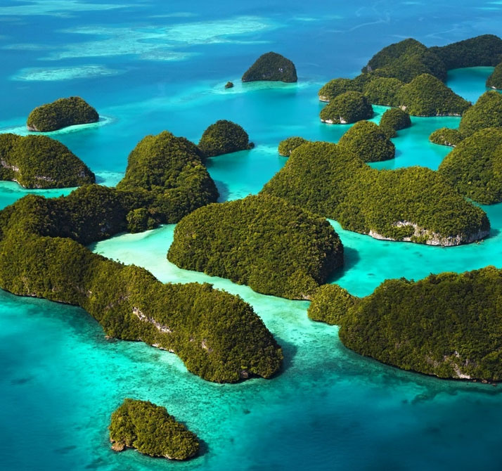 Rock Island, Palau, Philippine Sea