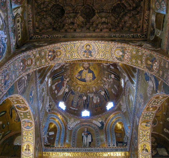 Cappella Palatina, Palermo,Sicily, Italy