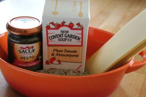 lentil lasagne ingredients