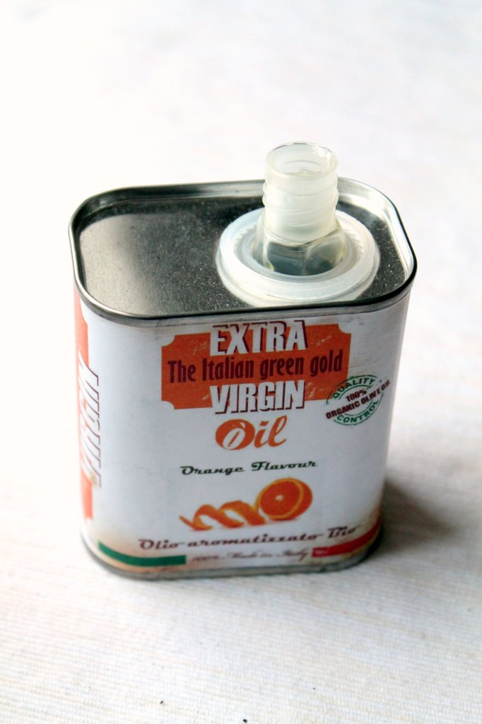 extra virgin olive oil orange flavour
