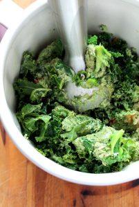 Kale avocado pesto