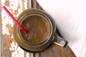 This hangover buster will line your stomach, give you slow-release energy and detox your liver pronto thanks to the addition of chlorella- although you'd never know it was there, thanks to the super chocolatey peanut buttery taste!