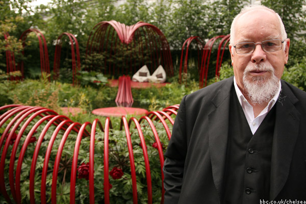 Sir Peter Blake, Chelsea Flower Show, 2011, photo by Ciarán Ryan