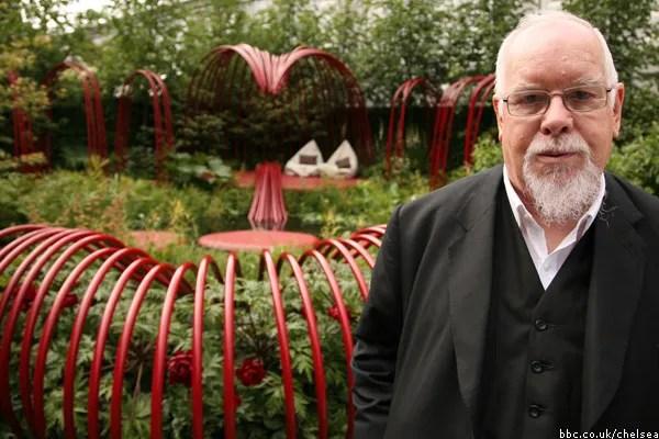 Sir Peter Blake, Chelsea Flower Show, 2011, photo by Ciarán Ryan