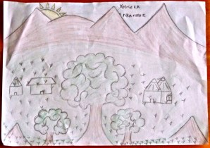 The maps that really matter: students at Manzimdaka School draw where they live