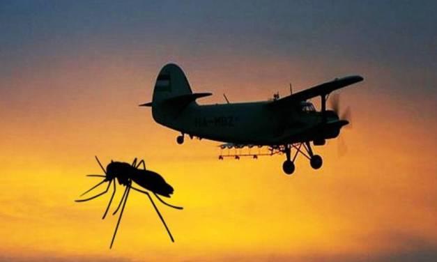 Tájékoztatás légi szúnyoggyérítésről