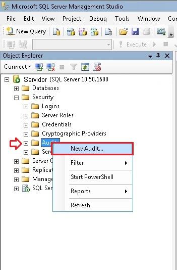 Descobrindo Auditoria no SQL Server 2008 – Parte 3 (1/4)