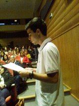 João do 10.ºano lê Almada Negreiros