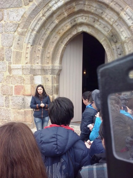 Porta da Igreja de Meinedo