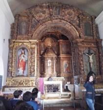 Capela-mor da Igreja de meinedo