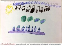 2.ºPrémio (Pré-Escolar) Concurso Ilustração 2016 Leonardo Barbosa Meireles,Sala1Amarela-JICristelos-AELousada