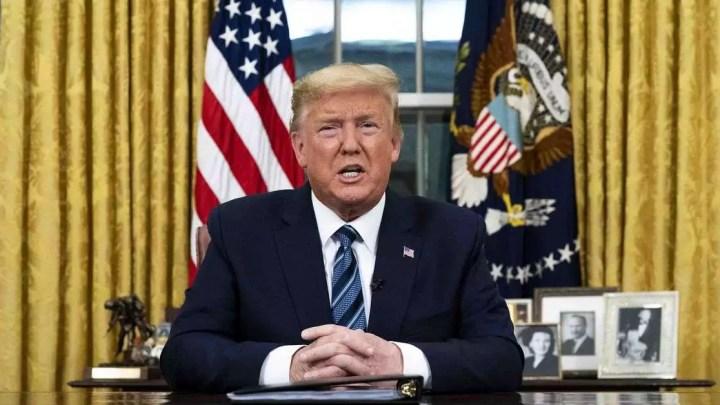 Trump emite declaração de emergência por pandemia de coronavírus