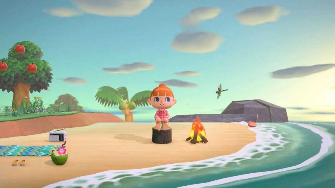 Animal Crossing: New Horizons Summer Update adiciona natação