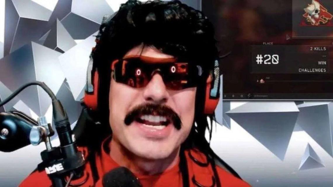 Dr. desrespeito proibido no Twitch, supostamente para sempre