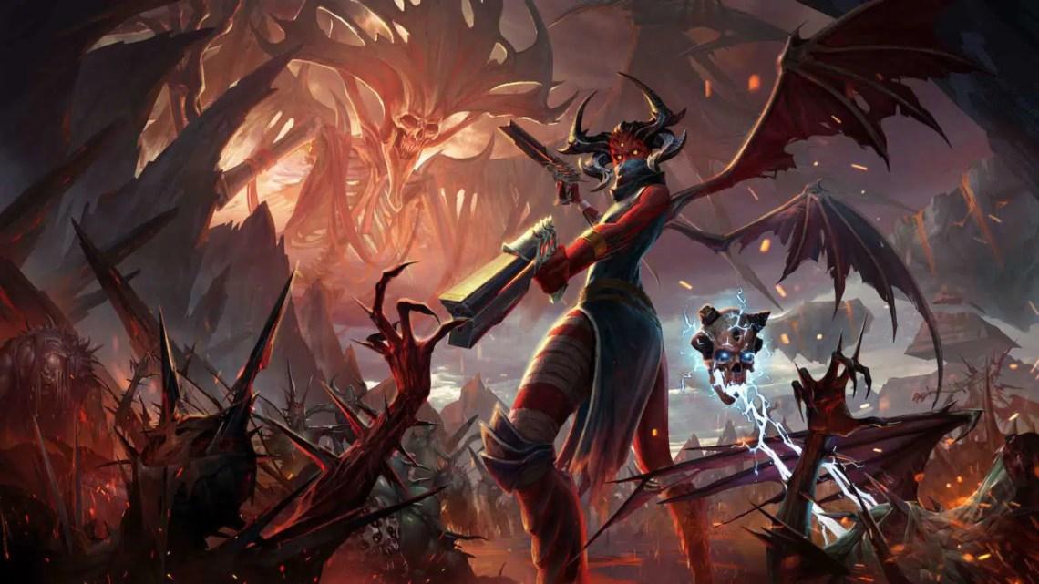 Metal: Hellsinger é um jogo de ação e ritmo inspirado em Doom