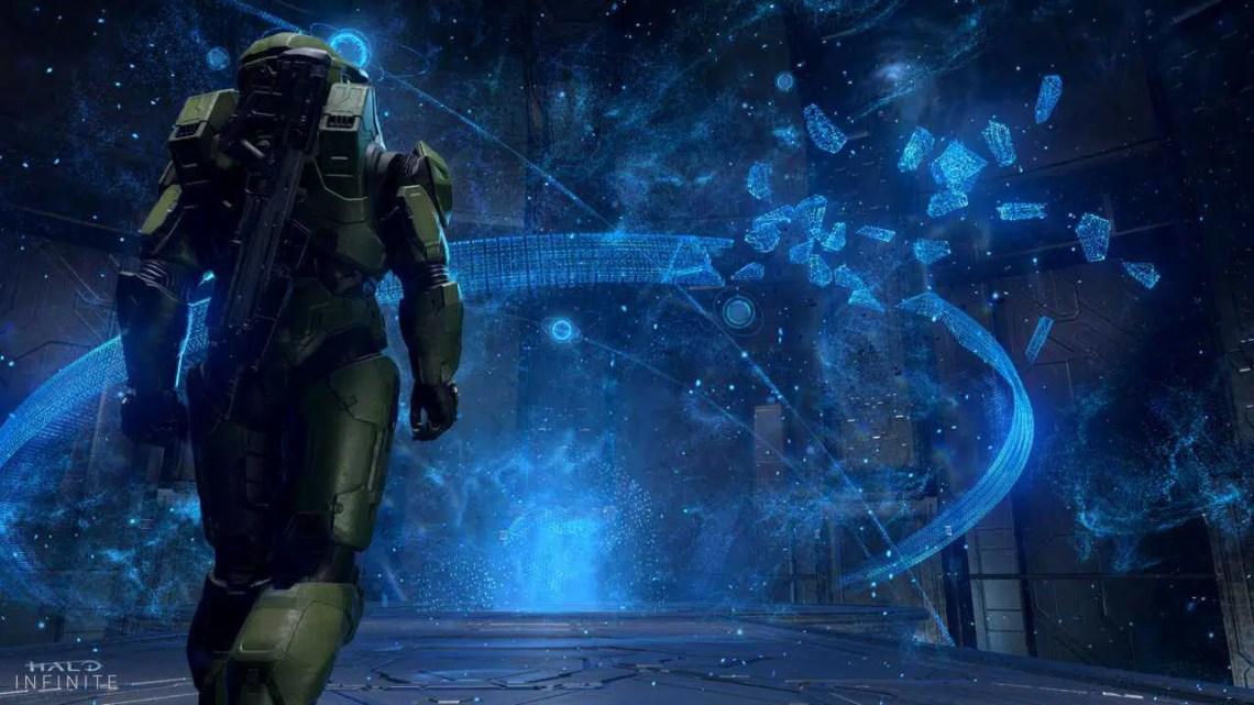 A demonstração do Halo Infinite está sendo refeita no Halo 5, e parece ótimo